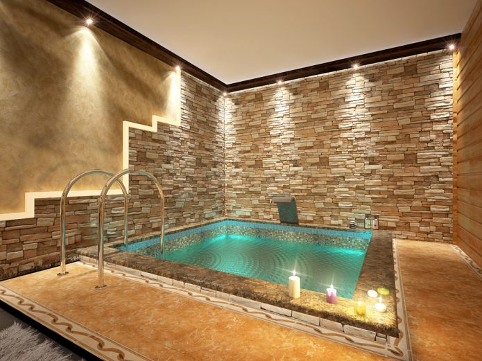 Бассейн в частном доме