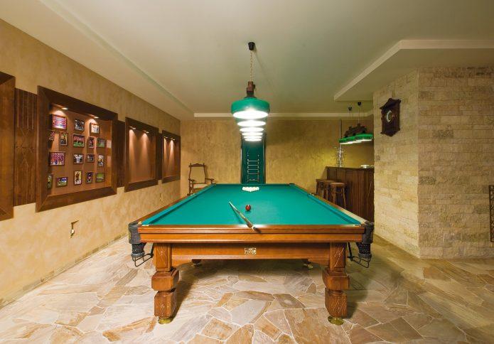 Комната для бильярда