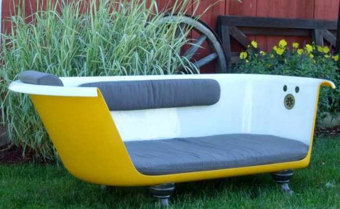 Удобное сидение с мягкой спинкой