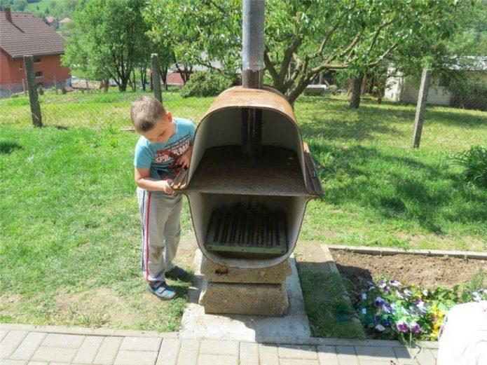 Самодельная печь