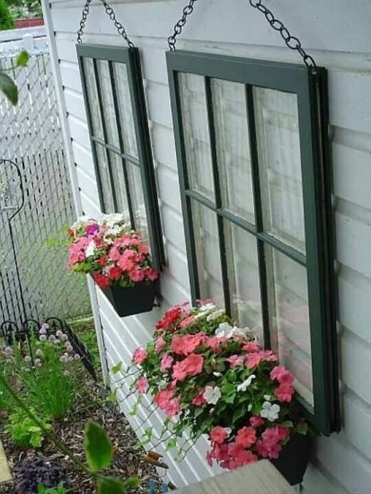 Декоративные окна для фасада