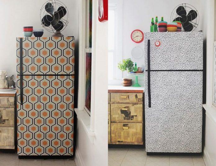 Идея обновления старого холодильника
