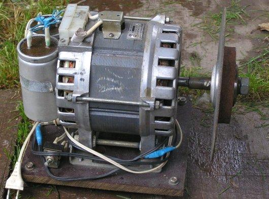 Точильный станок из стиральной машины