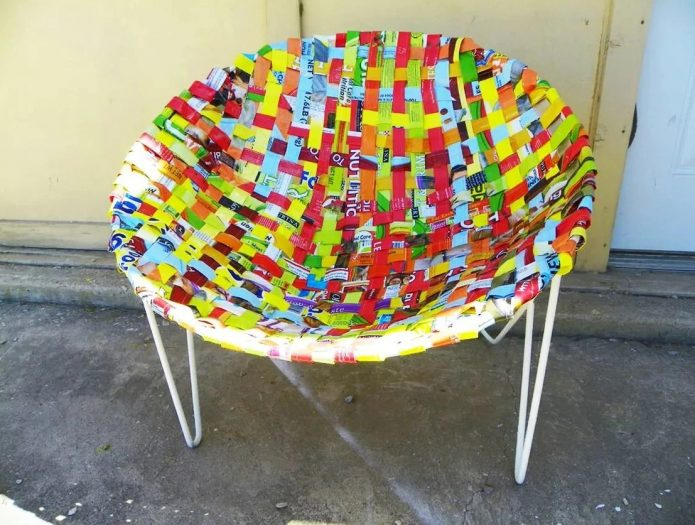 Кресло из обруча