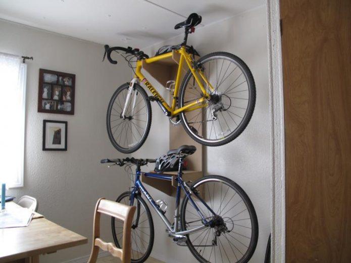 Размещение байка в квартире