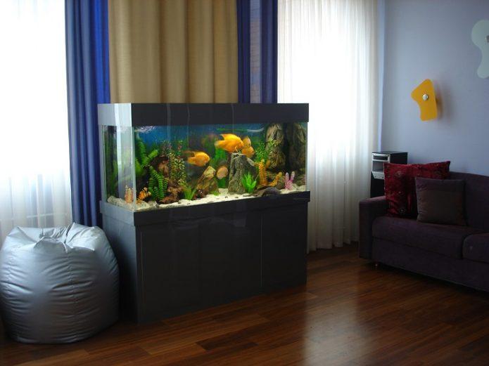 Аквариум в квартире