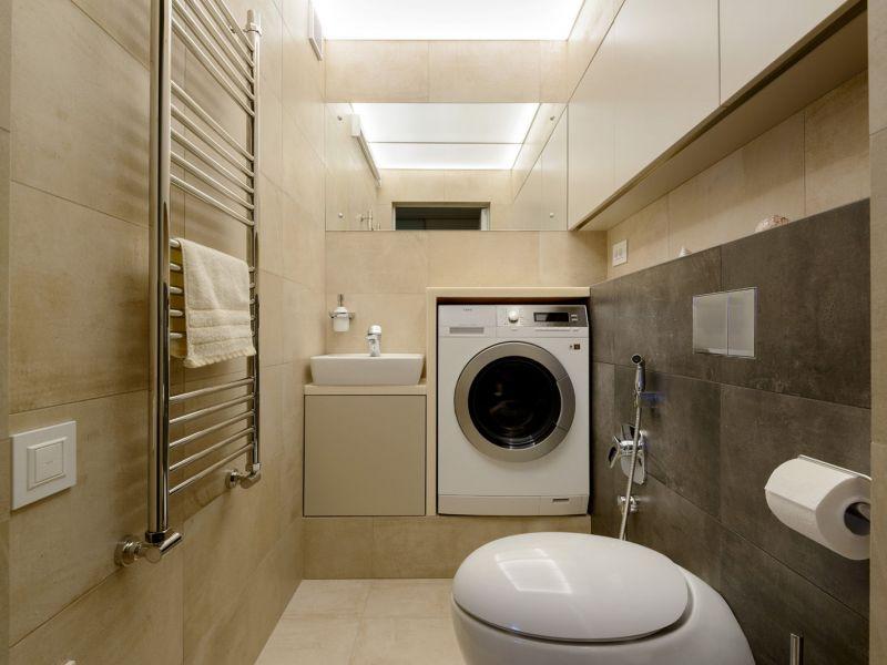 Куда поставить стиральную машинку: идеи для тесной квартиры