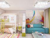 Куда поставить детскую кроватку в однокомнатной квартире: решение найдено