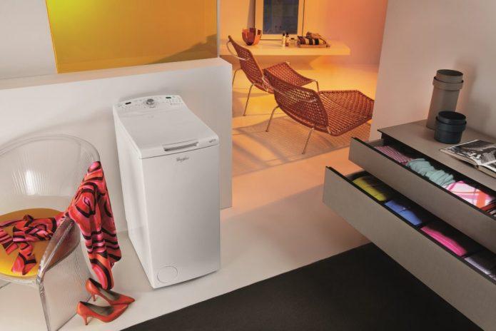 стиральная машинка с вертикальной загрузкой