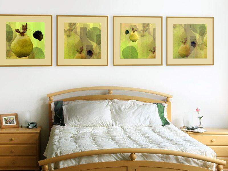 Как повесить картины в квартире: удачные варианты на фото
