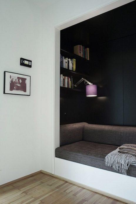 Уютная зона для отдыха и чтения