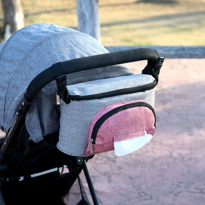 Сумка на молнии для прогулок с ребёнком