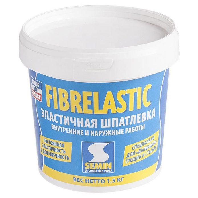 Эластичная шпатлёвка Semin Fibrelastic