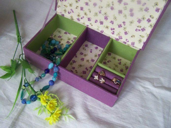 Вариант шкатулки из коробки