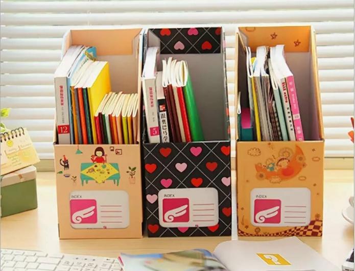 Органайзер из трёх коробок для школьника
