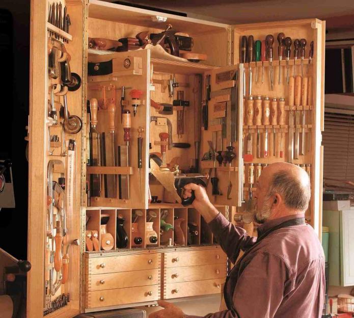 Большой функциональный органайзер для инструментов