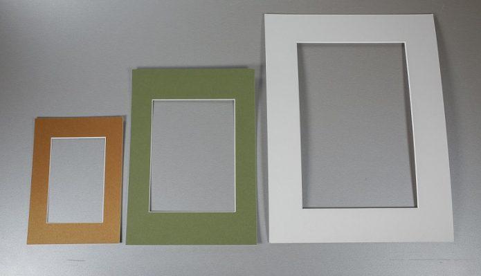 Картонные рамки для фотографий