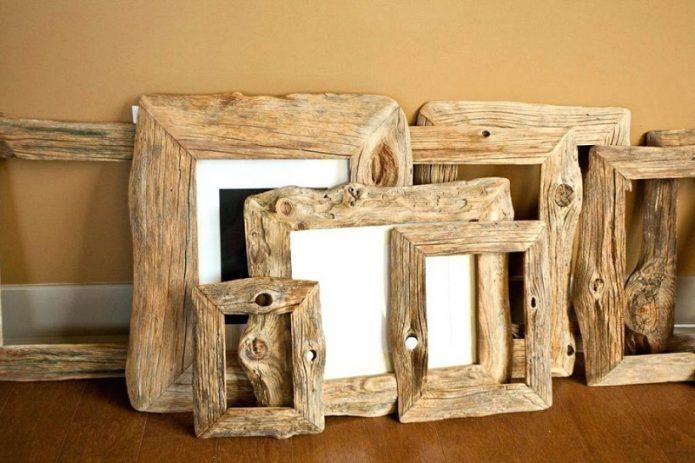 Рамочки для фотографий из коряг