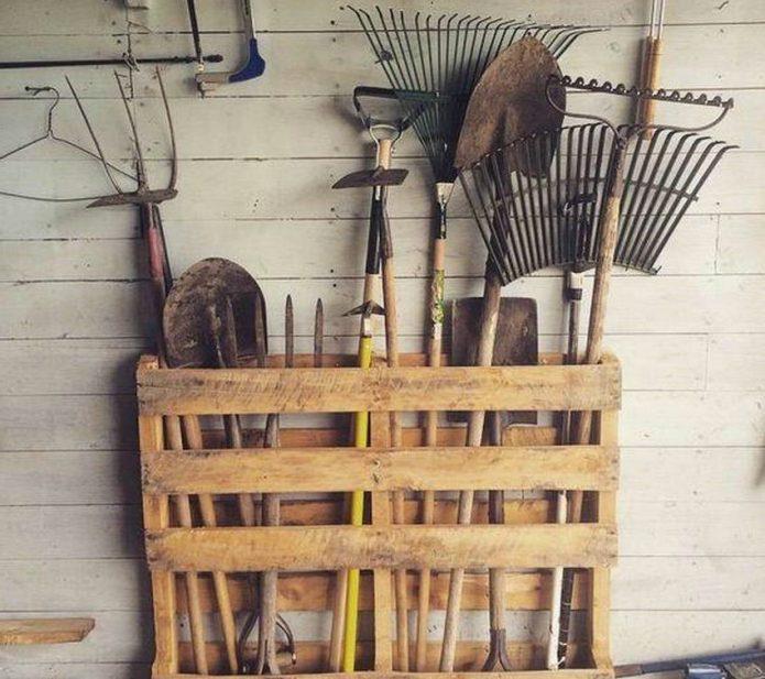 Органайзер для садового инвентаря