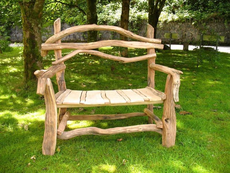 35 идей мебели для садового участка своими руками