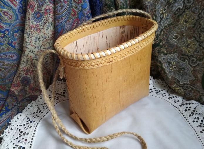 сумка из бересты
