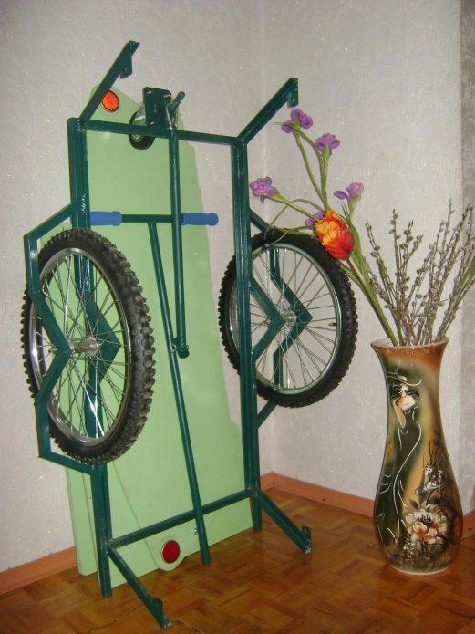 Самодельный прицеп к велосипеду