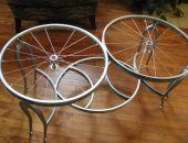 декор из велосипедных колёс своими руками