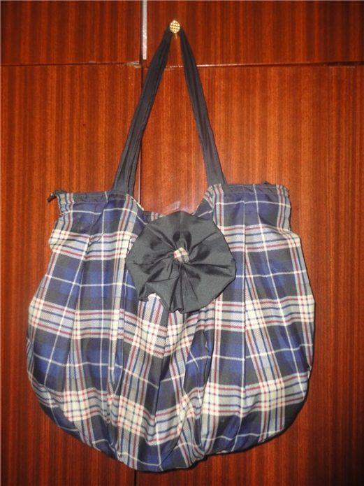 Самодельная сумка из старого зонта