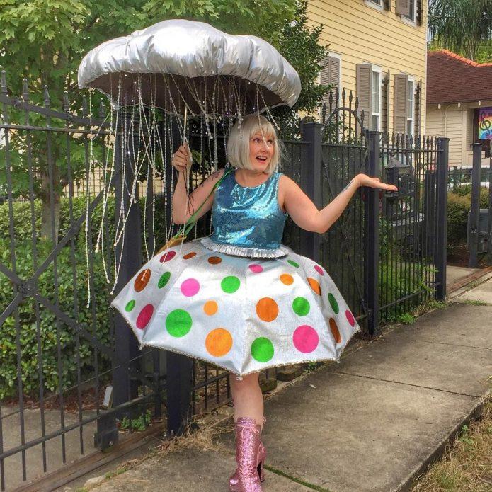 Платье из зонта