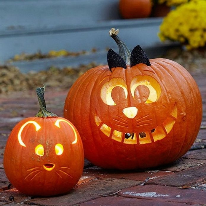 Весёлые поделки на Хэллоуин