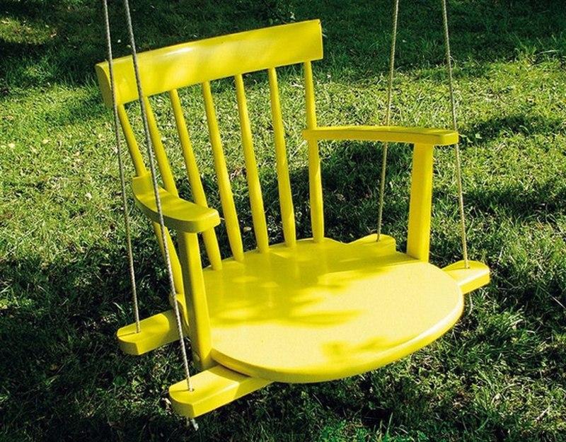 Несколько жизней старых стульев: примеры на фото