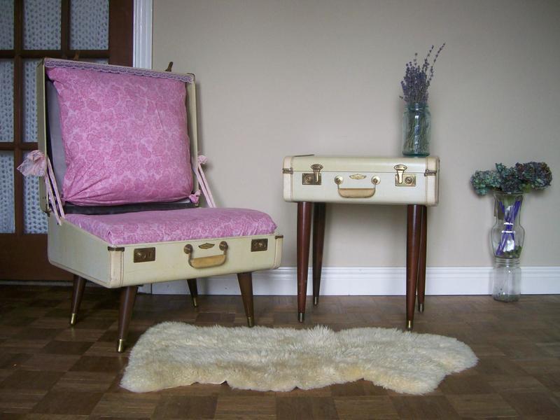 Обновки из кладовки: что сделать для квартиры и дачи из старых чемоданов своими руками