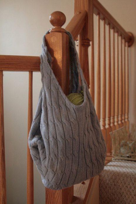 Сумка из свитера
