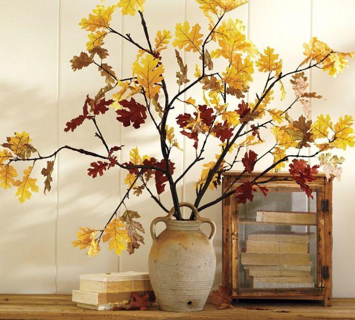 Осенний декор на даче