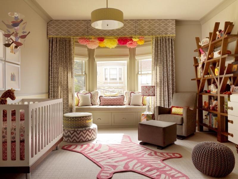 8 идей, которые помогут сделать детскую комнату уютной