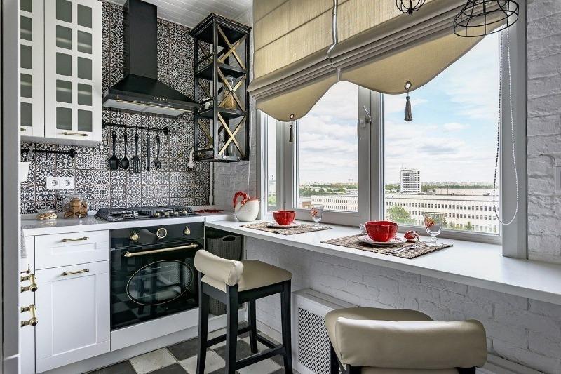 10 способов зрительно увеличить пространство маленькой кухни