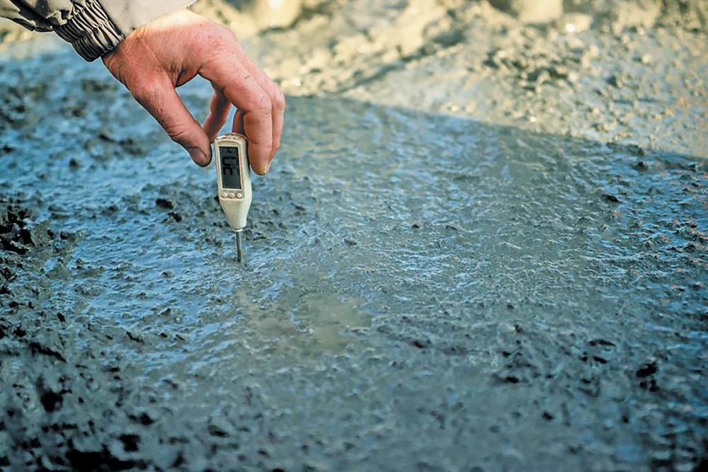 Когда нужен температурный контроль бетонной смеси